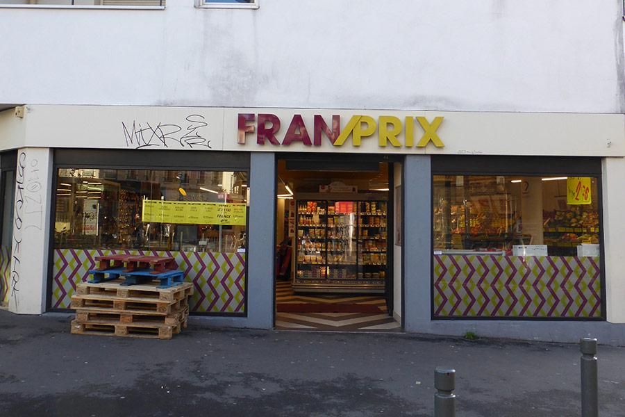 Franprix - 6-8 rue Paul Bert Montreuil