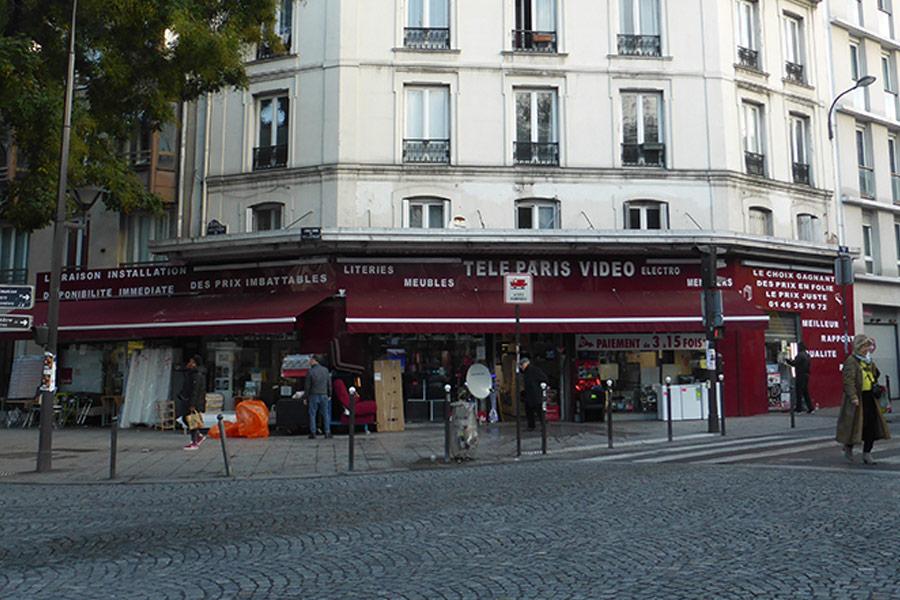 Brasserie Maison Richard - Place de Menilmontant Paris 20