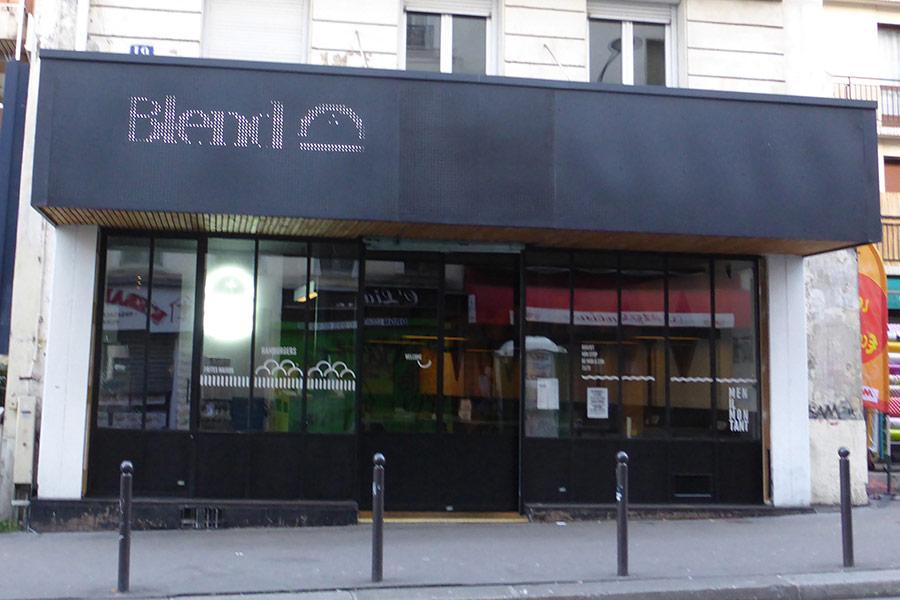 Blend - Rue de Menilmontant Paris 20