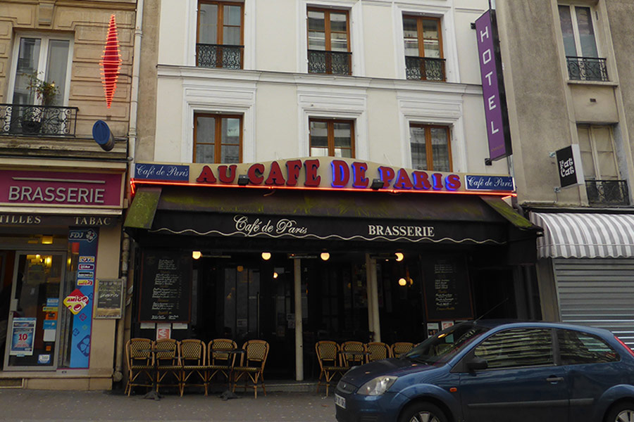 Café de Paris - Rue Oberkampf Paris 11