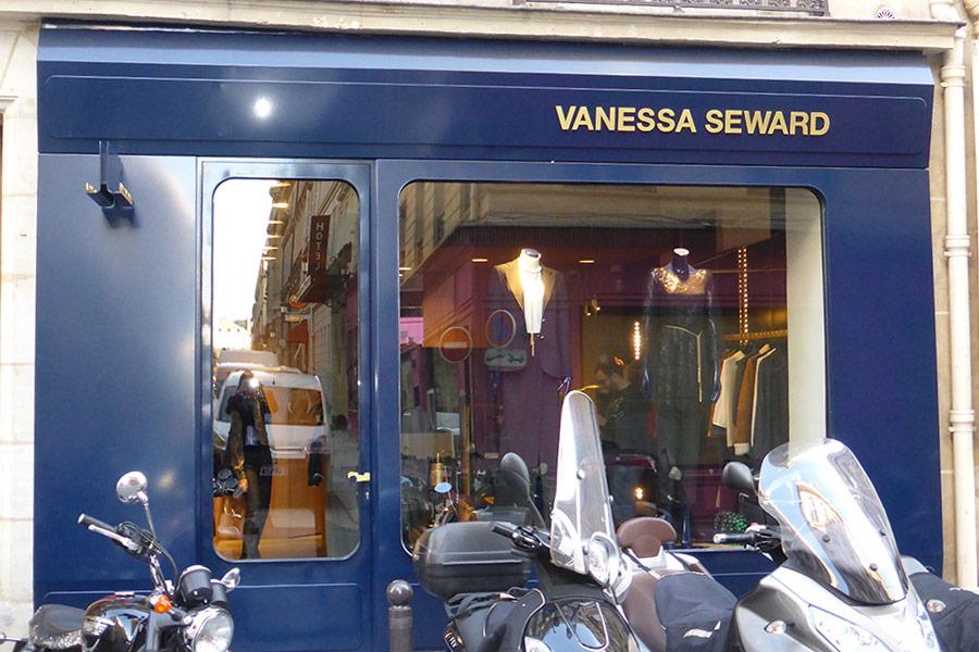 Vanessa Seward - Rue d'Alger Paris 1